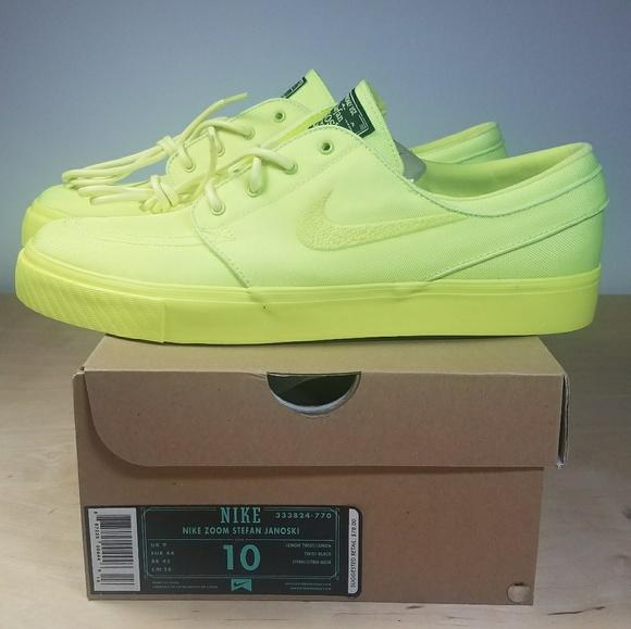 b1a57ff6d2d72a Nike Stefan Janoski - Lemon Twist